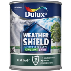 Dulux Weathershield Quick Dry Satin 750ml Heathland