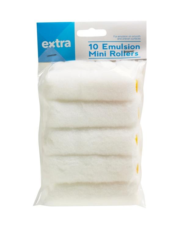 "Extra Mini Roller Sleeves - 4"" Emulsion"
