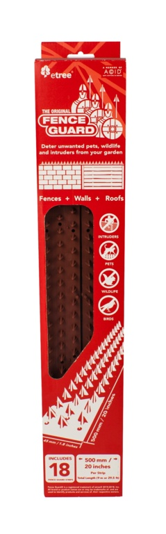 Etree Brown Fence Guard - Pack 18