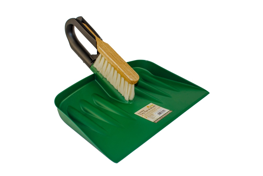 Etree Green Jumbo Garden Pan And Brush