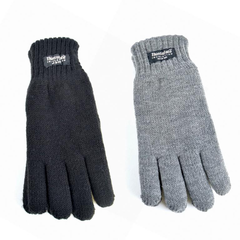 RJM Boys Thinsulate Knitted Gloves