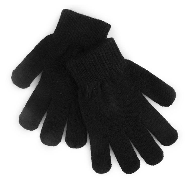 RJM Kids Thermal Magic Gloves - Black