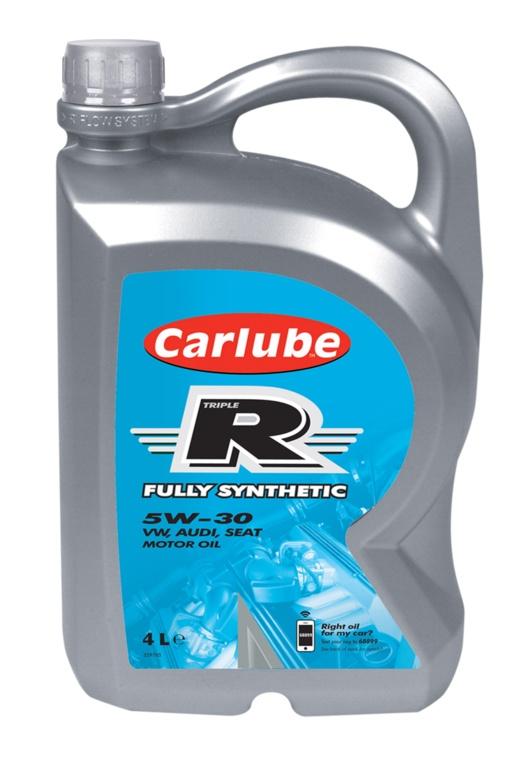 Carlube Triple R 5w-30 Fully Synthetic VW - 4L