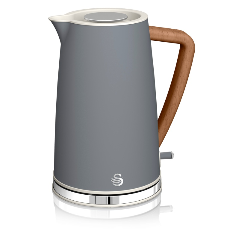 Swan Nordicstyle Cordless Kettle Grey Stax Trade Centres