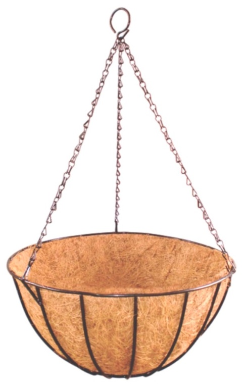 Ambassador Hanging Basket With Coco Liner - 16""