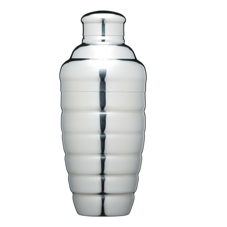 BarCraft Stainless Steel Cocktail Shaker - 500ml