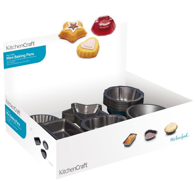 KitchenCraft Mini Bakeware - Non Stick