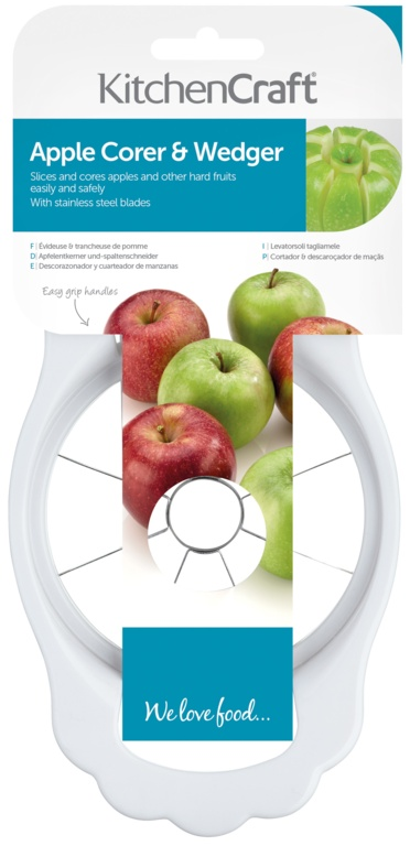 KitchenCraft Apple Corer And Wedger - Stainless Steel Blade