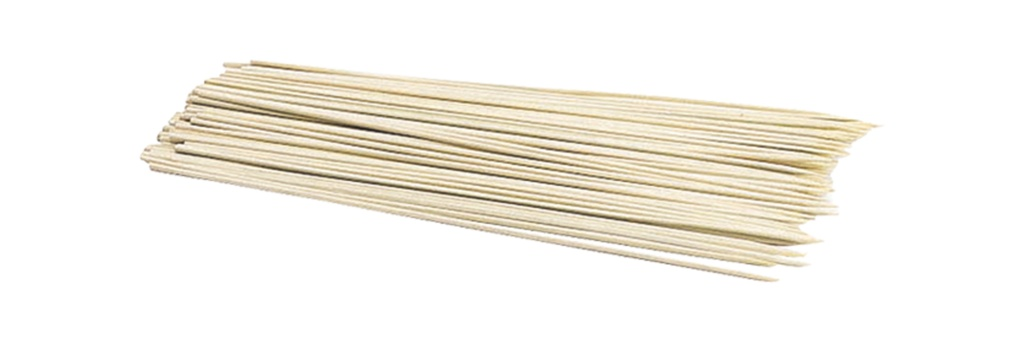 KitchenCraft Bamboo Skewers 100 Piece - 20cm