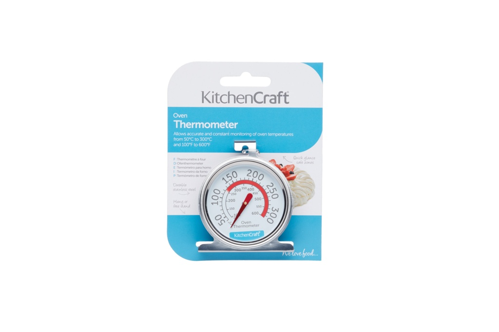 KitchenCraft Stainless Steel Thermometer - 7cm