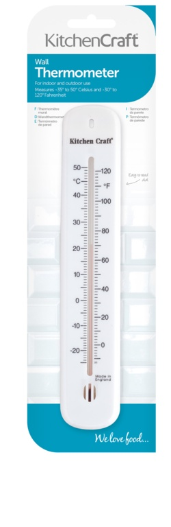 KitchenCraft Wall Thermometer - 20cm