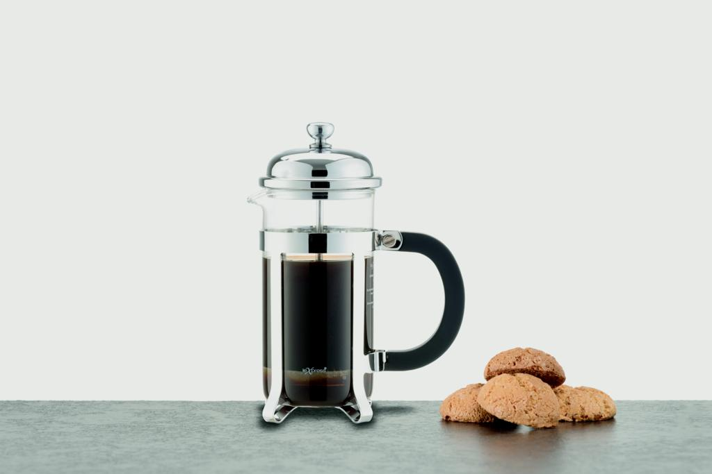 Le'Xpress Chrome Plated Cafetiere - 3 Cup