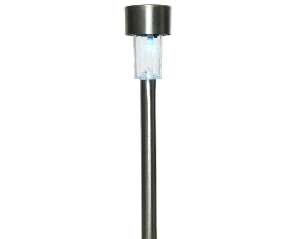 Lumineo LED Solar Stainless Steel Garden Light