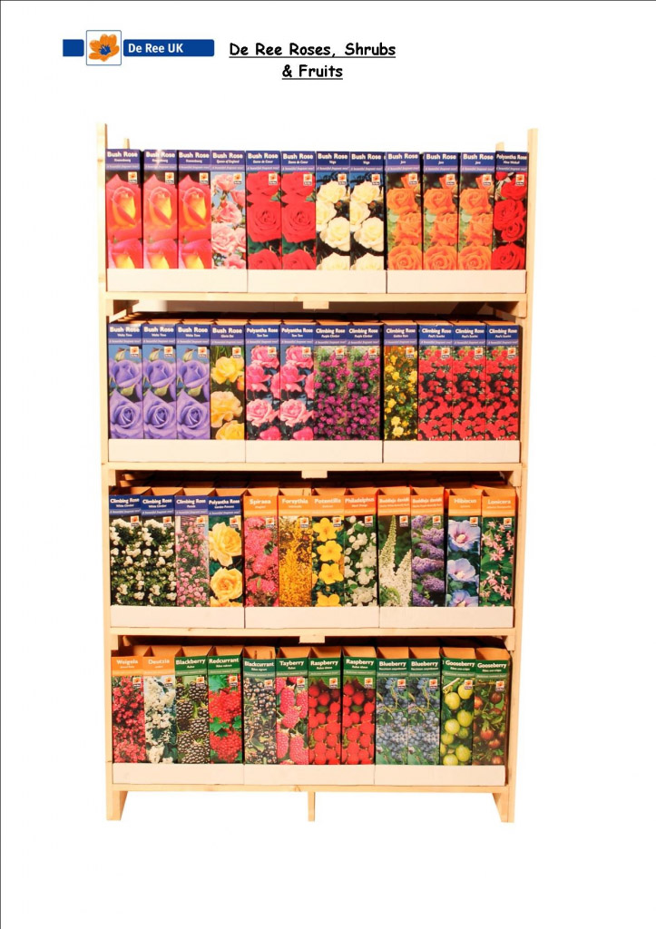 De Ree UK Fruit Bushes - Assorted