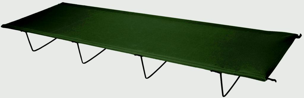 Yellowstone Folding Camp Bed - Black
