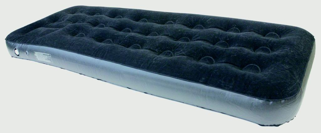 Yellowstone Deluxe Flock Black Airbed - Single