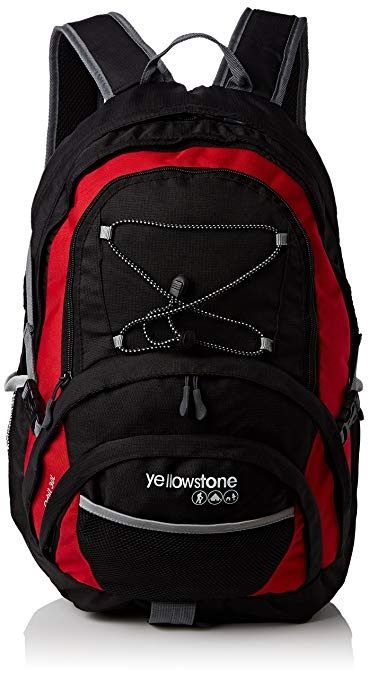 Yellowstone Orbit Rucksack - Red/Black 30L