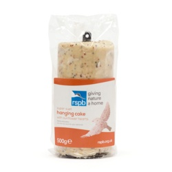 Rspb Suet Hanging Cake With Sunflower Hearts