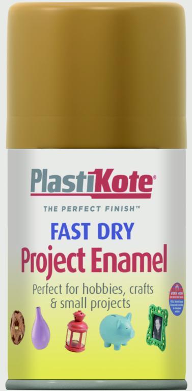 PlastiKote Fast Dry Enamel Aerosol Paint - Copper 100ml
