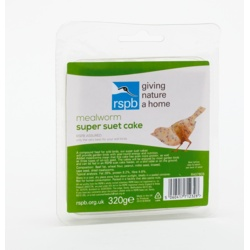 Rspb Super Suet Cake With Mealworms