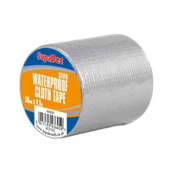 SupaDec Waterproof Cloth Tape 48mm x 4.5m Silver