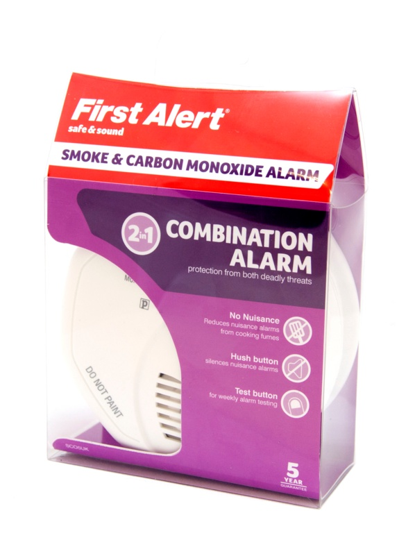 First Alert Combined CO And Smoke Alarm