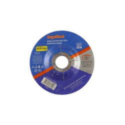 SupaTool Metal Cutting Disc With Depressed Centre