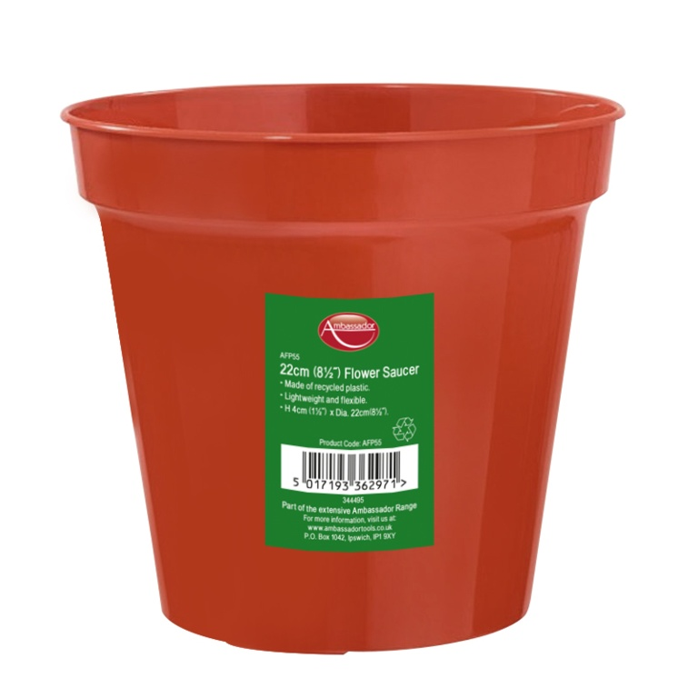 Ambassador Flower Pot - 8""