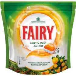 Fairy Clean & Fresh All In One Dishwasher Tablets