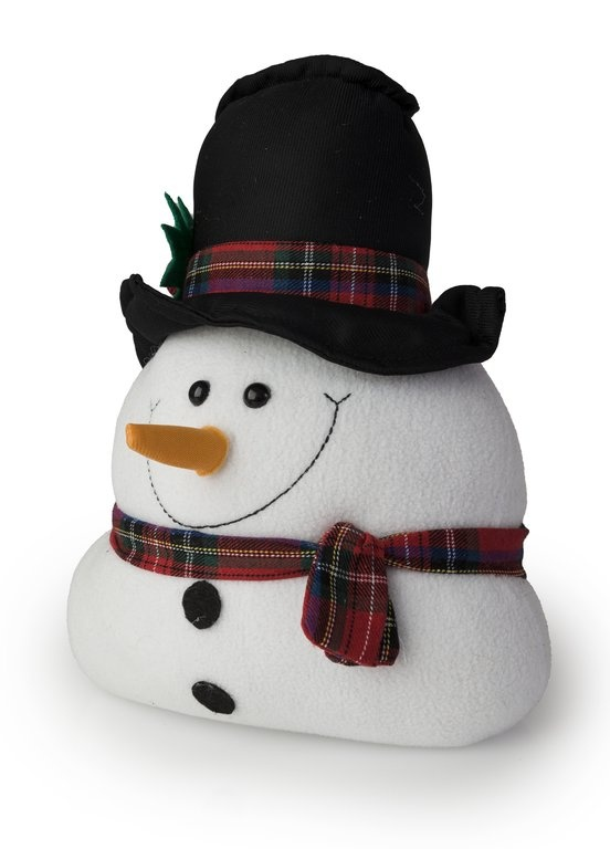 Blue Canyon Door Stop - Snowman