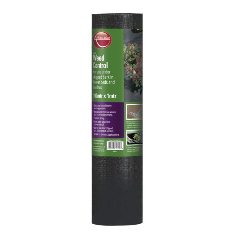 Ambassador Weed Control Fabric - 100 x 1m