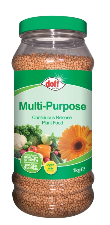 Doff Continuous Release Plant Food - 1kg Multi Purpose