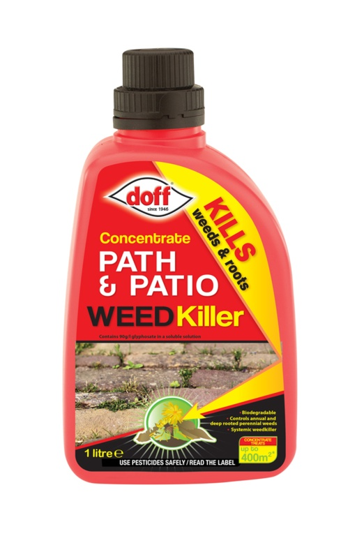 Doff Concentrated Path & Patio Weedkiller - 1L