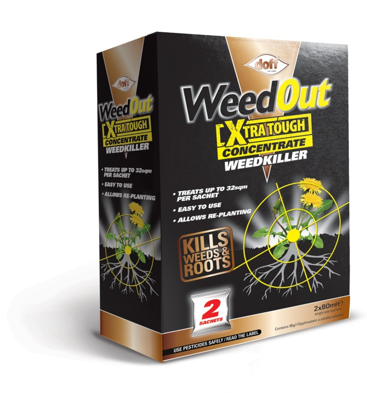 Doff WeedOut Extra Tough Concentrated Weedkiller - 2 Sachet