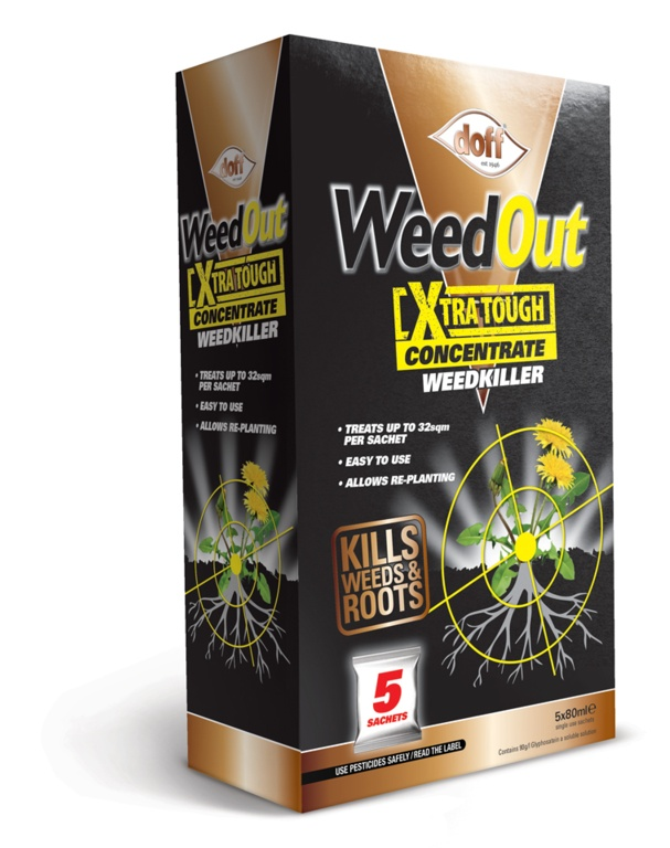 Doff WeedOut Extra Tough Concentrated Weedkiller - 5 Sachet
