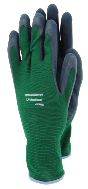 Town & Country Mastergrip Green Glove - Medium
