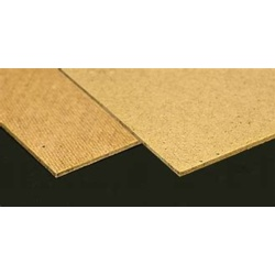 Brown Standard Hardboard - 610mm x 1220mm x 3.2mm