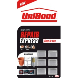 UniBond Repair Express Power Putty 6 x 5g Doses