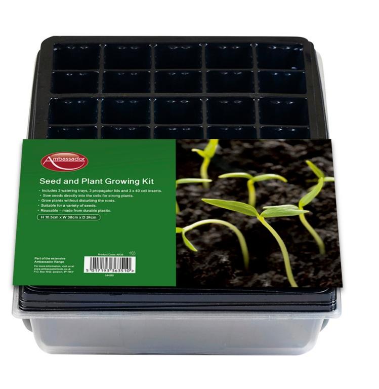 Ambassador Seed & Plant Growing Kit
