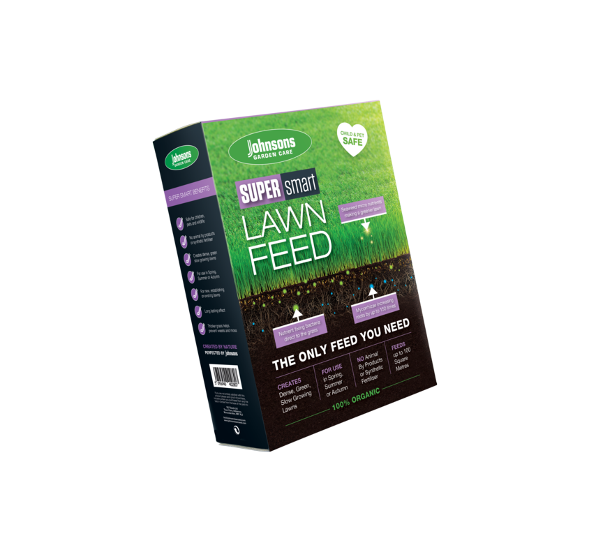 Johnsons Super Smart Lawn Feed - 100sqm