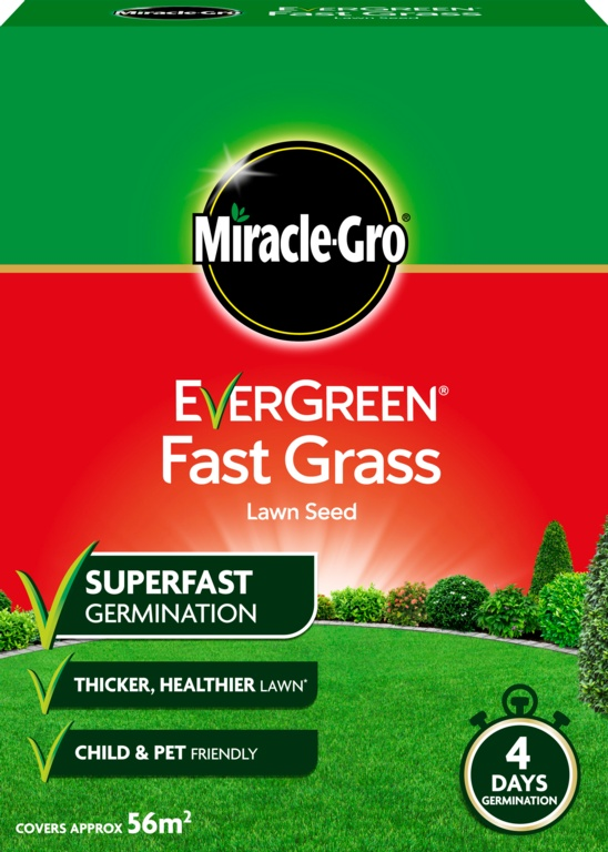 Miracle-Gro Fast Grass Seed - 1.6kg