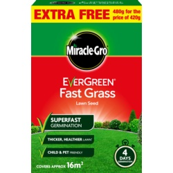 Miracle-Gro Fast Grass Seed Promo