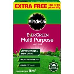 Miracle-Gro Multi Purpose Grass Seed Promo