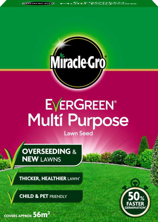 Miracle-Gro Multi Purpose Grass Seed - 1.6kg