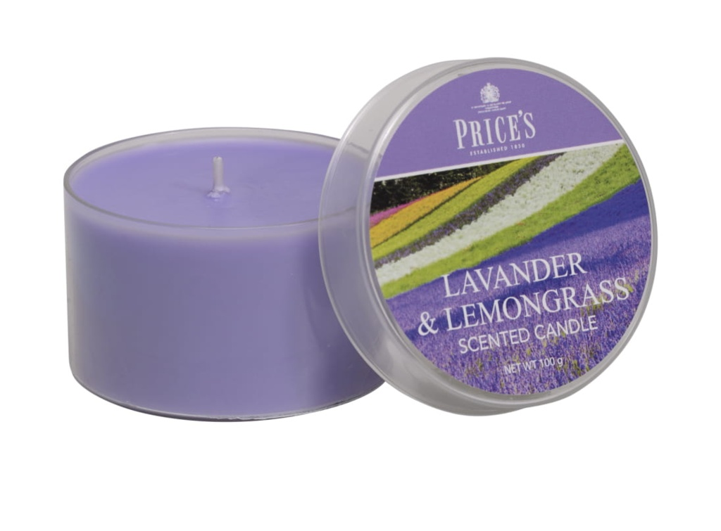 Prices Candle Tin - Lavender And Lemongrass