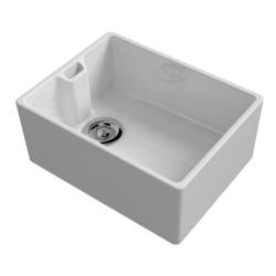 Reginox Belfast White Ceramic Sink Inc Waste