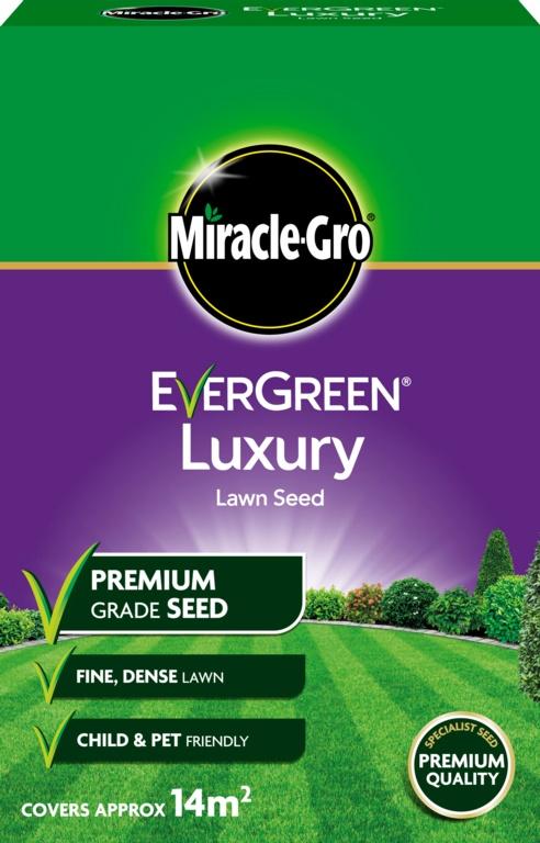 Miracle-Gro Luxury Lawn Seed - 420gm