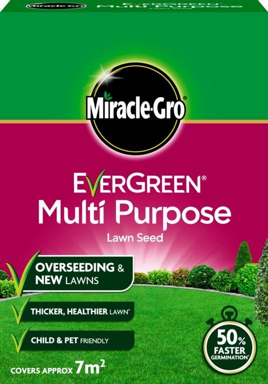 Miracle-Gro Multi Purpose Grass Seed - 210gm