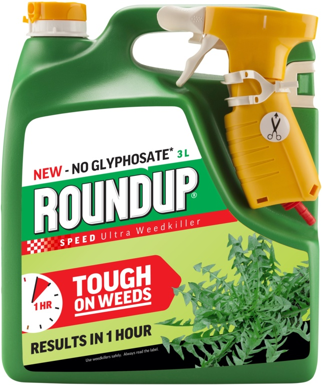 Roundup Speed Ultra Weedkiller - 3L