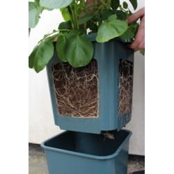 Large 60cm Slim Venetian Window Box Plant Pot Planter Trough Plastic Terracotta
